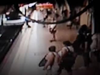 Opnieuw onschuldig slachtoffer op de sporen getrapt: jongeman kan naderende metro maar nipt ontwijken