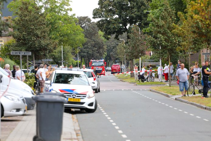 De buurt liep uit voor de brand in de Krugerstraat.