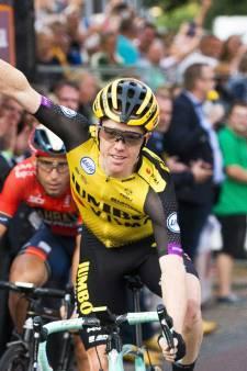 Huldiging Steven Kruijswijk in Nuenen na Ronde van Spanje