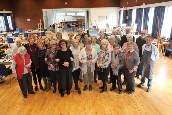 Kunstvereniging Senior Artists Rode organiseert volgende week opnieuw de een tentoonstelling in cultureel centrum Wauterbos.