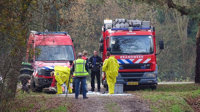 Vaten met drugsafval in Veldhoven