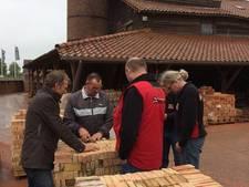 Eerste stenen voor herstel molen Groenekan zijn klaar