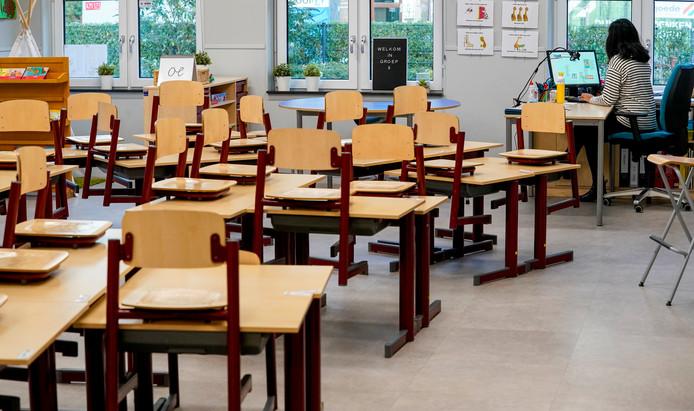 Ter illustratie: een klaslokaal.