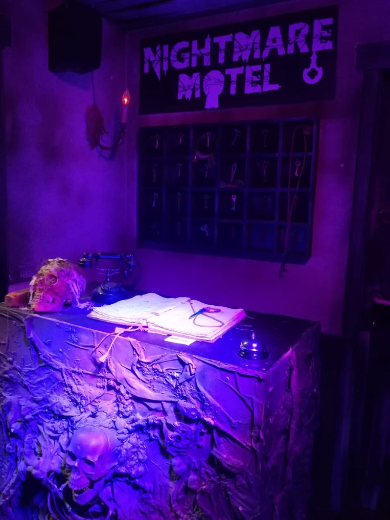 Nightmare Motel in Bobbejaanland