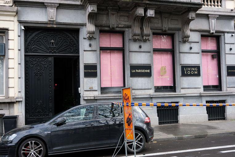 Schietincident Louizalaan Brussel