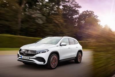 Elektrisch 'instapmodel' van Mercedes kost 49.995 euro: EQA haalt 'straks meer dan 500 kilometer'