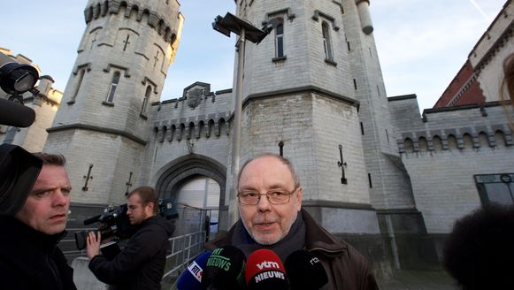 Christian Van Eyken zat in januari 2016 al even in voorarrest in de gevangenis van Sint-Gillis.