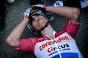Mathieu van der Poel kon op eerste paasdag zijn geluk niet op na zijn sensationele overwinning in de Amstel Gold Race.