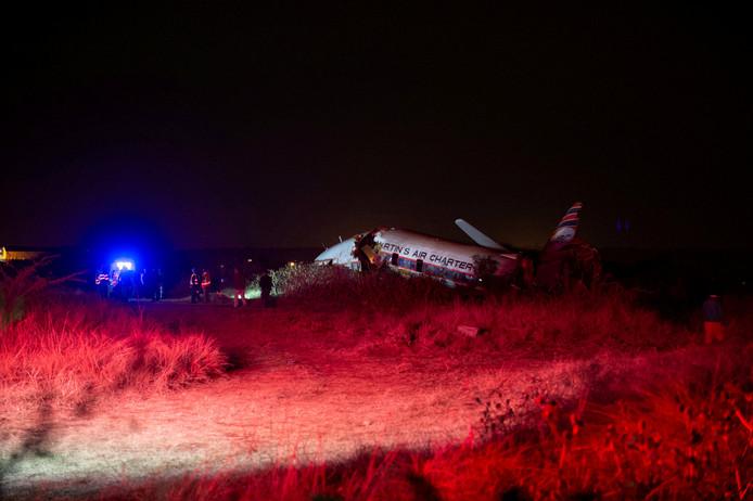 De Convair 340 uit 1954 stortte gisteren neer vlakbij de luchthaven Pretoria. Het vliegtuig zou naar Aviodrome komen, waar het zou worden tentoongesteld.