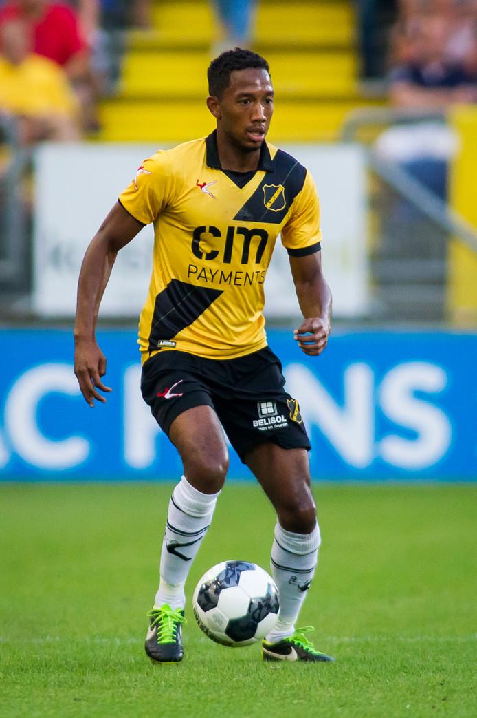 Breda,Rat Verlegh Stadion,  26-08-2016 , seizoen 2016 - 2017 , Jupiler League , Eerste Divisie voetbal NAC - Den Bosch<br />NAC speler Fabian Sporkslede