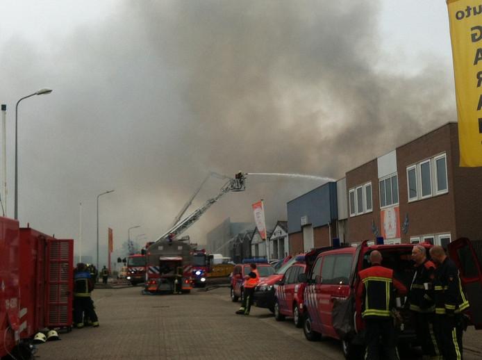 Brand Gildeweg Vlissingen.