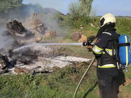 Brand Vinkeveen vermoedelijk aangestoken