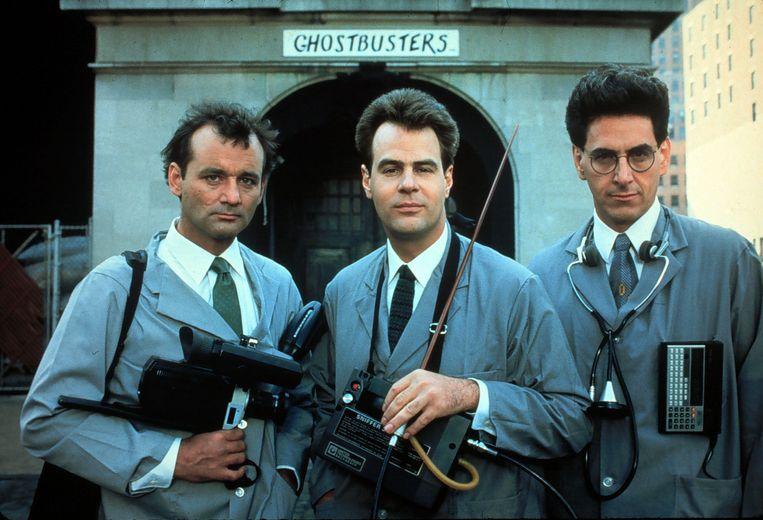 Bill Murray, Dan Aykroyd en Harold Ramis.