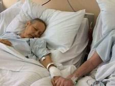 Kankerpatiënten Julie en Mike nemen afscheid met emotionele foto