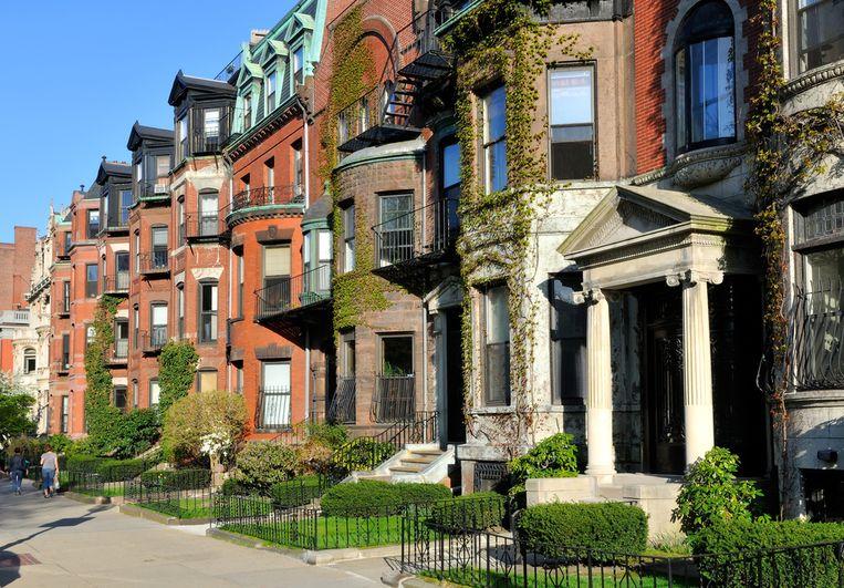De Back Bay-wijk in Boston.