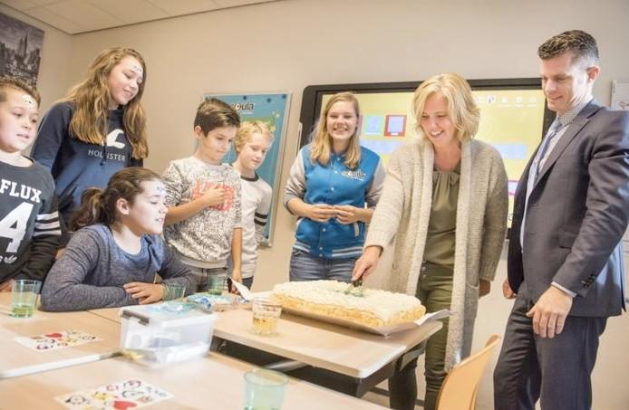 Ingrid Rademakers won de wedstrijd voor 'Ezelsbruggetje van het jaar'.