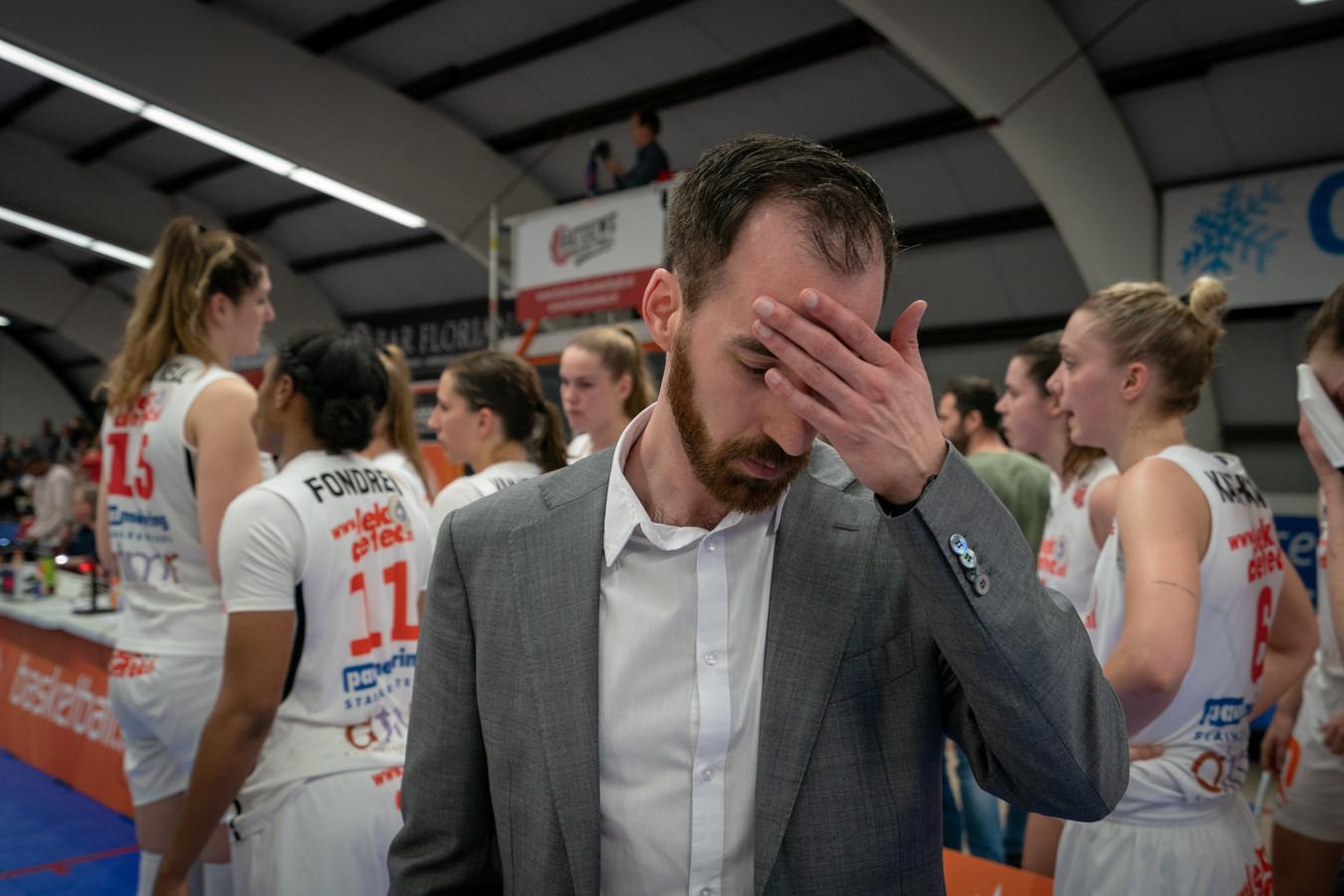 Kopzorgen voor coach Daan de Heus van Lekdetec.nl/Batouwe.