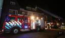 Brandweer aan de Van Ysselsteinstraat in Den Bosch.