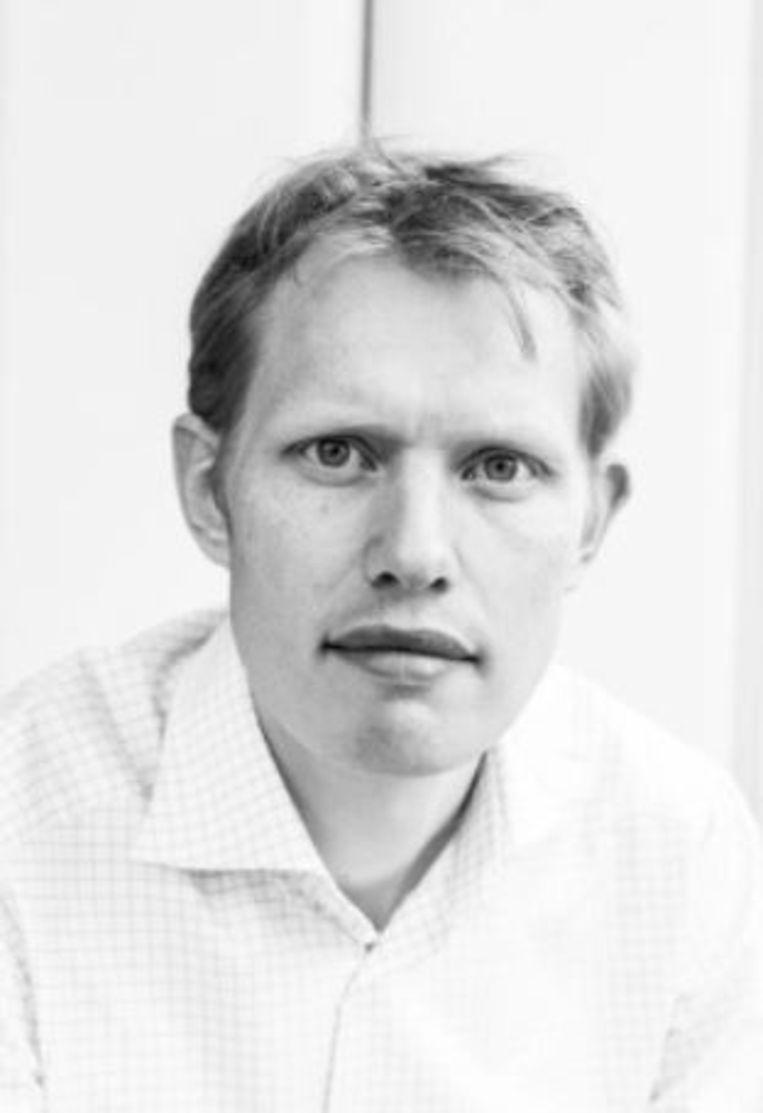 Jan Beuving (36), wiskundige en cabaretier. Beeld RV