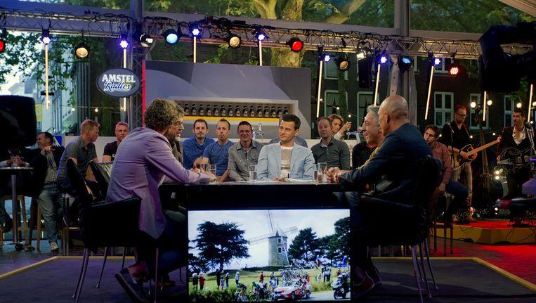 Wilfred Genée en zijn talkshow over wielrennen... Beeld anp