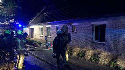 Woning aan Speelhofweg licht beschadigd na brand
