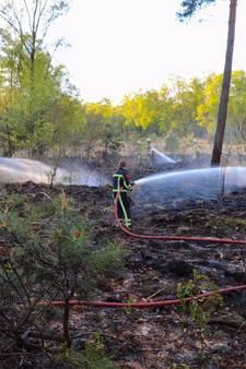 Politie onderzoekt branden in natuurgebied NO-Twente
