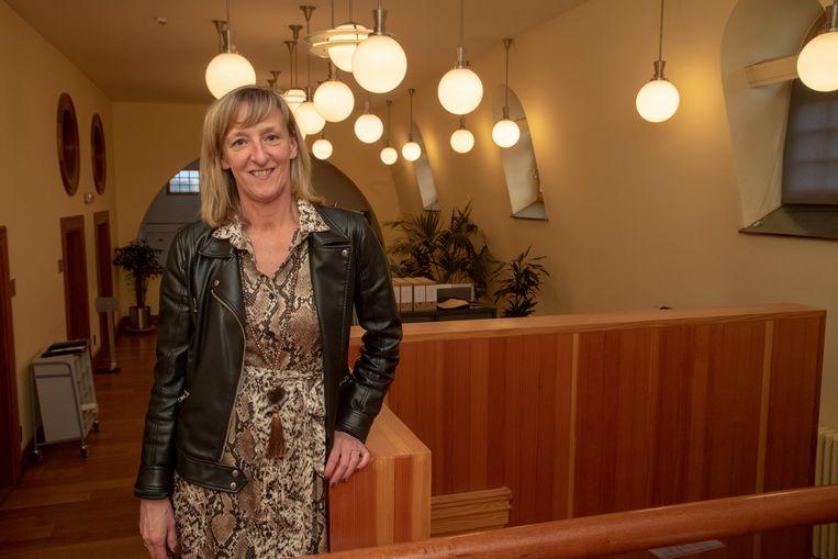 Elsie SIerens is de eerste vrouwelijke burgemeester van Destelbergen.