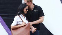 Meghan Markle verhuist naar Londen om bij prins Harry te zijn