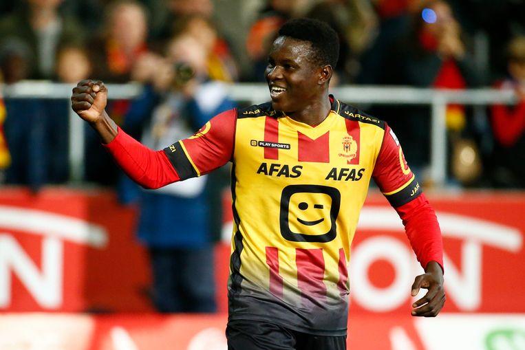 Hassane Bandé scoorde al 8 keer voor KV Mechelen.