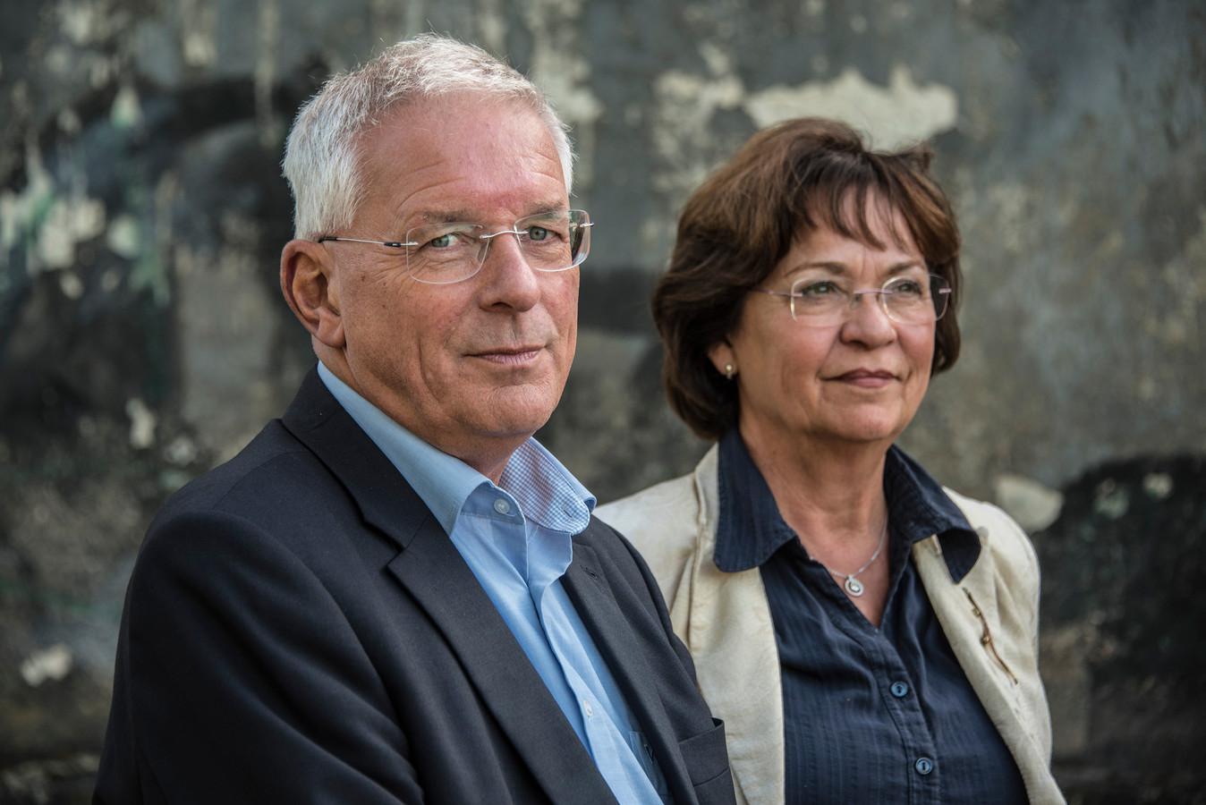 Peter de Koning van Gennep samen met zijn vrouw Edith.