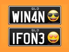 Een emoji op je kentekenplaat: in Australië mag het