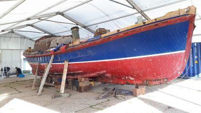 """Vzw Restart zoekt nog vrijwilligers om historische reddingsboot te restaureren. """"We merken nu wel al een groot enthousiasme. Maritieme zit in ons DNA"""""""