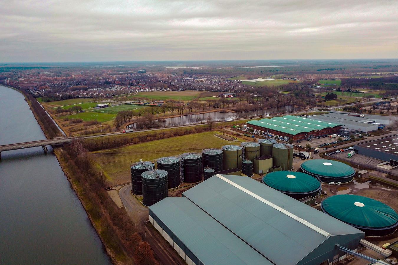 Het complex van mestverwerker Den Ouden in Helmond.