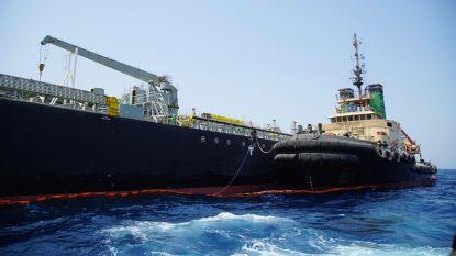 Iran sleept olietanker met pech weg uit Perzische Golf