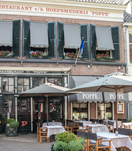 Restaurant Poppe in Zwolle tijdelijk gesloten na coronabesmetting