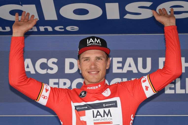 Matthias Brändle droeg ooit de leiderstrui in de Baloise Belgium Tour.