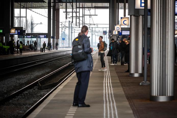 Wie met de hsl naar Breda wilde, moest vanmiddag geduld hebben.