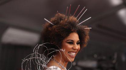 IN BEELD. Verkleed als grensmuur of als Venus van Botticelli naar de Grammy Awards: de opvallendste looks