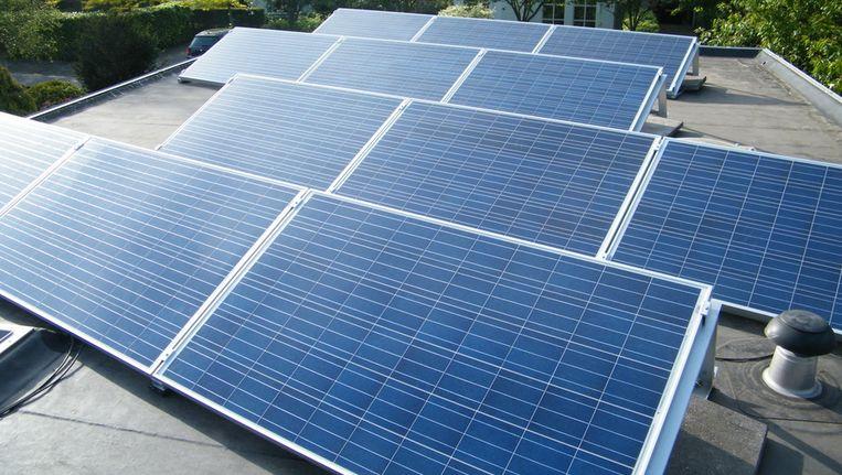 Zonnepanelen op je dak: nu bij één op de 500 huishoudens, in 2020 bij één op de acht? Beeld