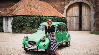 Geitjes veroveren Haspengouw: Michèle Engelen (23) stuurt met Route38 twaalf kleurrijke exemplaren door de fruitstreek