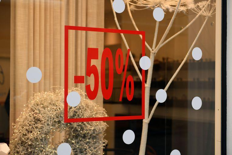 De Leuvense winkels houden zich keurig aan de wetgeving en bieden in de aanloop naar de solden enkel koppelverkoop aan.