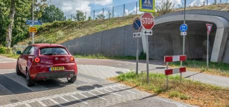 Nieuwe fietstunnel in Molenhoek zorgt voor verwarring