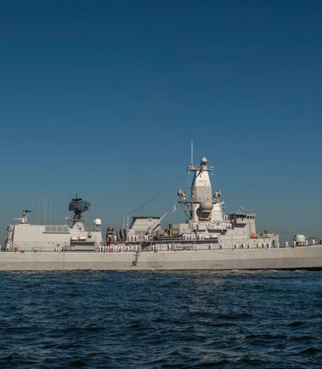 Celstraffen voor dronken matrozen die na feestje op fregat Leopold I op de vuist gaan