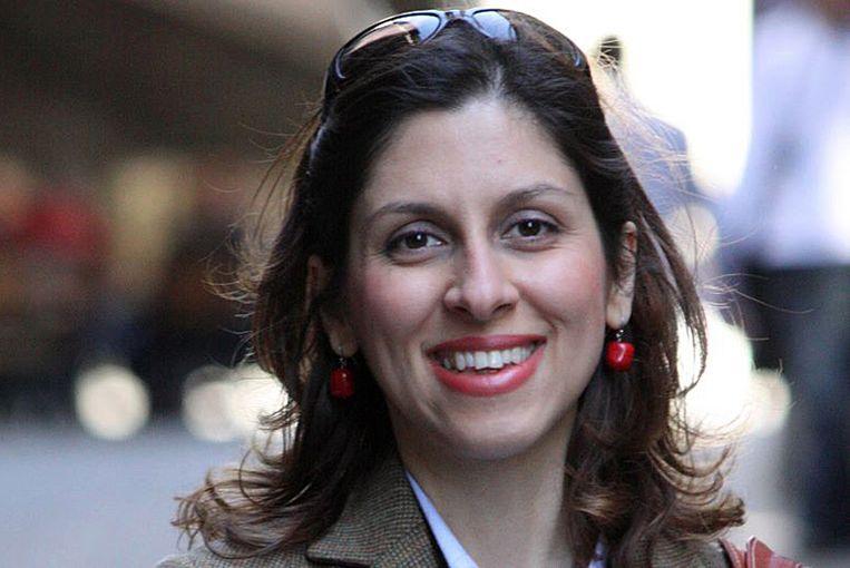 Nazanin Zaghari-Ratcliffe wordt ervan beschuldigd deel te hebben genomen aan een complot om het Iraanse bewind omver te werpen.  Beeld AP
