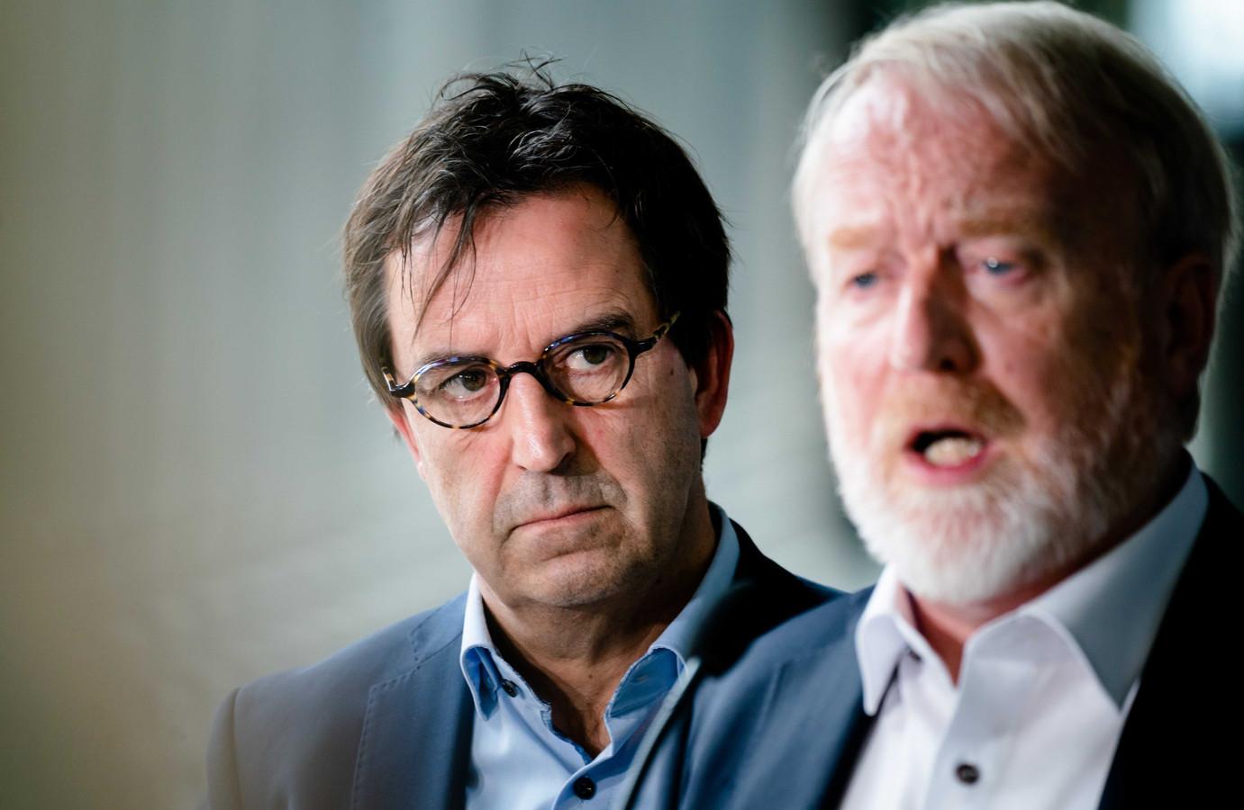 Diederik Gommers, anesthesioloog-intensivist in het Erasmus MC, en Jaap van Dissel  van het RIVM zijn onder de belangrijkste deskundigen waarop het kabinet het beleid in de coronacrisis baseert.