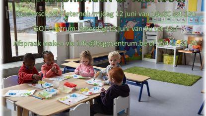 Opendeurdagen op afspraak in kleuterschool Pieternel en BS GO! Centrum