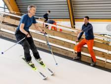 Fanatieke skiërs kunnen schaven aan techniek op 'eindeloze piste' in Alphen