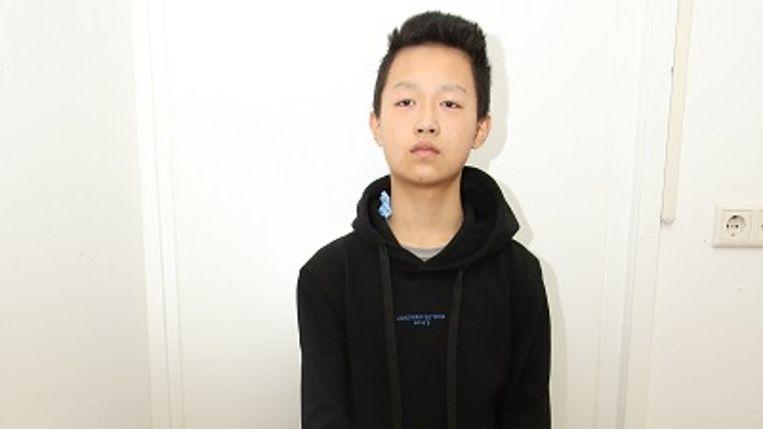 De onbekende Chinese jongen is ondergebracht bij een tijdelijke voogd.