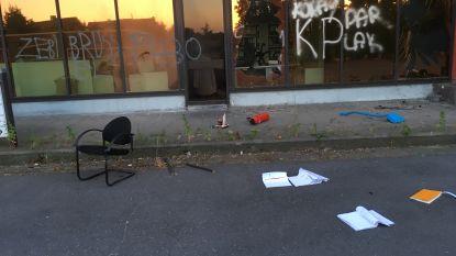 Verlaten slachthuis doelwit van vandalen