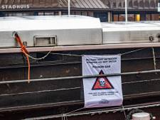 Schip met rattengif in laadruim afgezet in haven Nijkerk